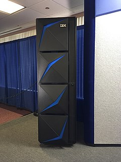 IBM Z Family name used by IBM for its non-POWER mainframe computers from the Z900 on