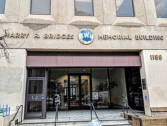 Harry Bridges - ILWU Headquarters