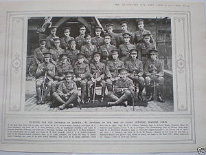 Inns of Court Regiment - Officers of the Inns of Court OTC pictured in 1915