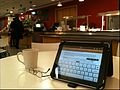 IPad on Canteen Table.JPG