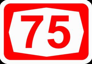 Highway 73 (Israel) - Image: ISR HW75