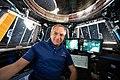 ISS-59 David Saint-Jacques takes a break inside the Cupola.jpg
