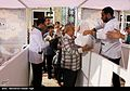 Iftar Serving for fasting people in the holy shrine of Imam Reza 09.jpg