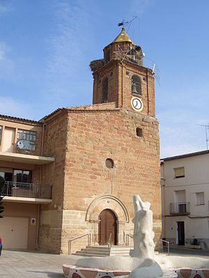 Altorricón - Image: Iglesia altorricon