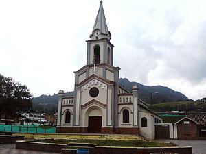 Tausa - Church of Tausa
