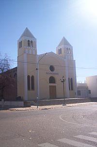 Iglesia matriz de Villa General San Martín, Albardón, San Juan, Argentina.jpg