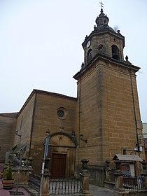 Iglesia parroquial de Ntra. Sta. de la Antigua - Baños de Ebro.jpg
