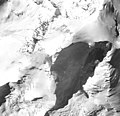 Iliamna Volcano, mountain glacier with bergschrund, August 25, 1964 (GLACIERS 6574).jpg