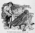 Illustrations by K. M. Skeaping for the Holiday Prize by E. D. Adams-pg-109-He trampled savagely among the nettles.jpg