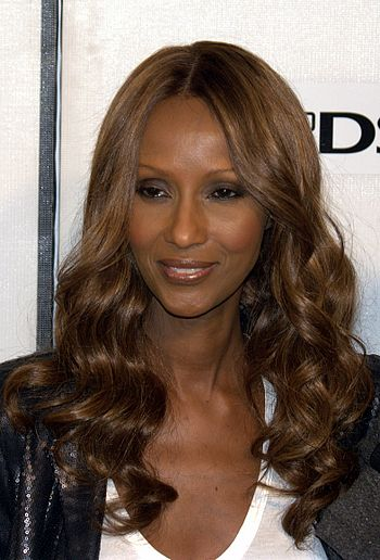 English: Iman at the 2009 Tribeca Film Festiva...