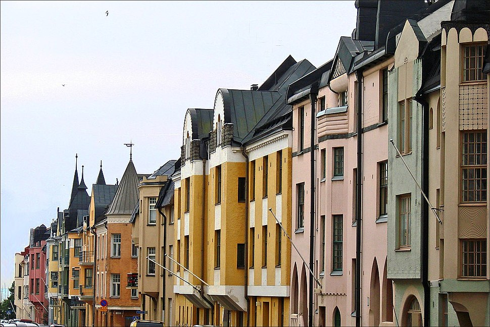 Immeubles art nouveau de la rue Huvilakatu (Helsinki) (2770906739)