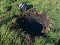 Impact crater but did it explode^ - geograph.org.uk - 1465446.jpg