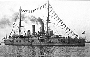 Imperator Aleksandr II-class battleship - Image: Imperator Aleksandr II1913Reval