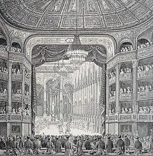 <i>Les bayadères</i> opera