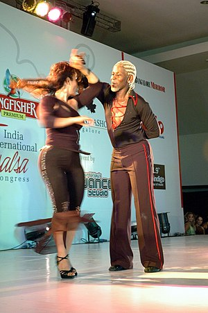 Salsa (dance) -  International Salsa Congress, 2004 at Bangalore