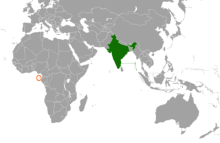 India–São Tomé and Príncipe relations