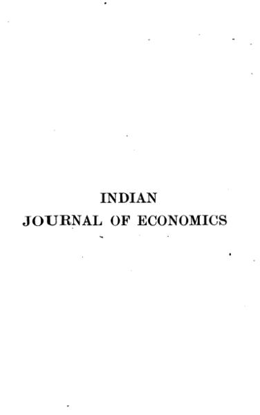 File:Indian Journal of Economics Volume 2.djvu