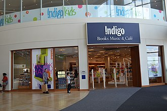 Indigo Books and Music - Indigo Books, Music at the Yorkdale Shopping Centre in August 2013