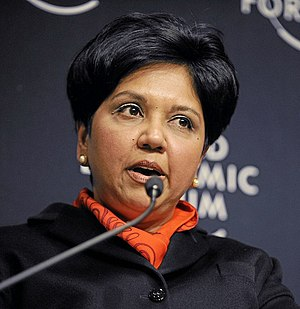 Indra Nooyi - Nooyi at the World Economic Forum annual meeting in Davos, Switzerland, January 2010.
