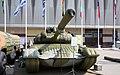 Inflatable T-72 tank, IDELF-2008.jpg