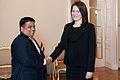 Inga Bite tiekas ar Šrilankas vēstnieku (6424054457).jpg