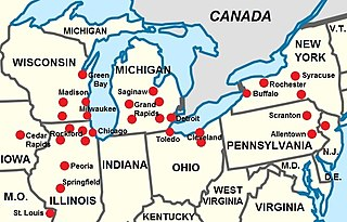 Inland Northern American English English as spoken in the US Great Lakes region