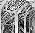 Interieur, kapconstructie boven het voorhuis - Bolsward - 20404443 - RCE.jpg