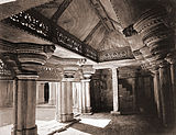 Interior of North Room, Man Mandir, Gwalior Fort.
