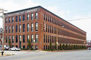 International Hat Company - Image: International Hat Company Warehouse in Soulard, St. Louis