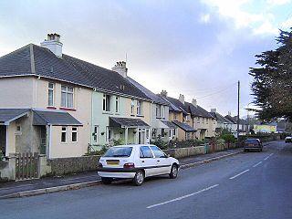 Ipplepen village in United Kingdom