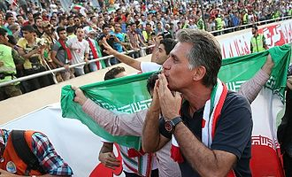 Carlos Queiroz - Queiroz celebrating following Iran's qualification for the 2014 World Cup