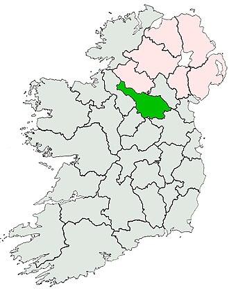 McGovern (name) - Image: Ireland location Cavan