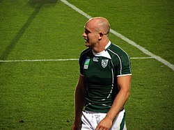 Ireland vs Georgia, Rugby World Cup 2007 Hickie.jpg