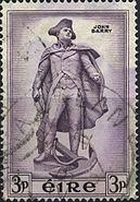 Irish Stamp John Barry