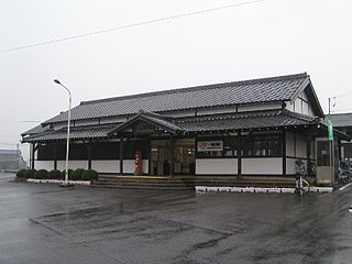 Ishinden Station Railway station in Tsu, Mie Prefecture, Japan