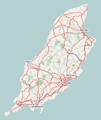 Isle of Man map of roads.png
