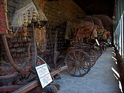 Some of the imperial carriages