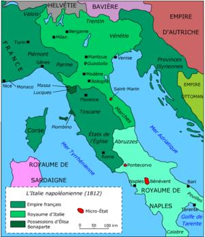 saint marin sur la carte du monde
