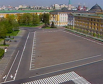Ivanovskaya Square - The square today