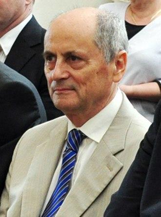 Prime Minister of Slovakia - Image: Ján Čarnogurský (2012)