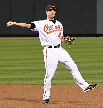 J. J. Hardy - Hardy with the Orioles in 2011