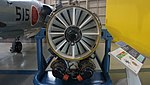 J79-IHI-11A turbojet engine front view at Kakamigahara Aerospace Science Museum November 2, 2014 01.jpg