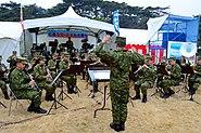 JGSDF North Eastern Army Band at Matsushima