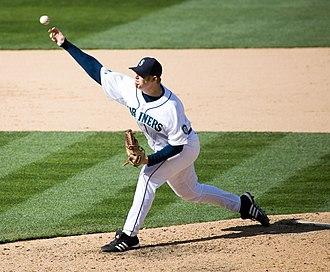 J. J. Putz - Image: JJ Putz Pitching