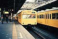 JNR 103 and 101 at Ochanomizu Station 19870211.jpg