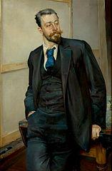 Portrait of Michał Gorstkin-Wywiórski