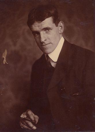 Jack Butler Yeats - Jack Butler Yeats, photo by Alice Boughton