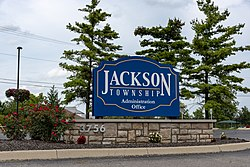 Jackson Township administrative offices sign