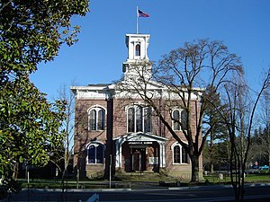 Jacksonville, Oregon - The former Jackson County Courthouse