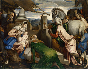 Jacopo Bassano - Jacopo da Ponte, called Jacopo Bassano - Adoration of the Magi